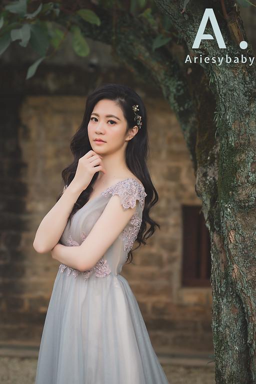 新娘髮型,黑髮新娘造型,新娘秘書,愛瑞思品牌訂製手工婚紗,手作捧花