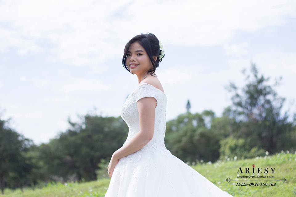 新娘秘書, 鮮花造型, 新娘造型, 花蓮新秘, 新娘髮型