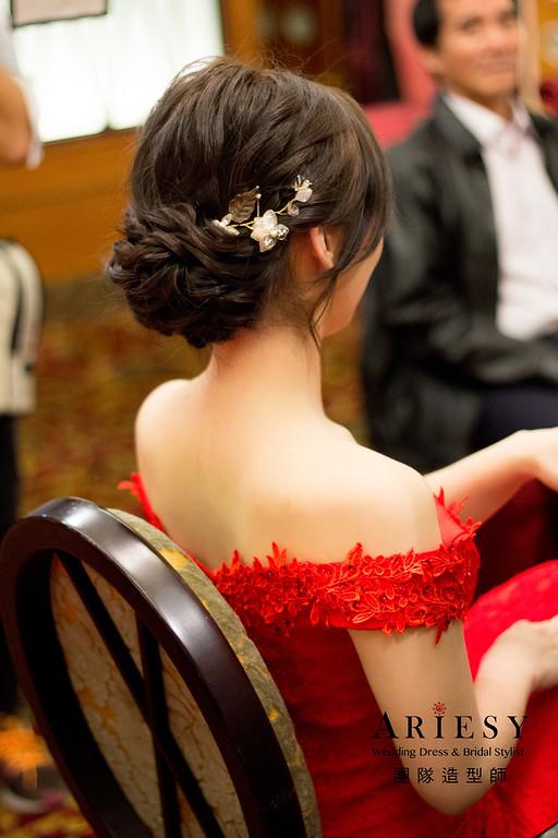 新娘秘書,新秘造型,文定編髮造型,白紗新娘造型,新娘韓系妝感