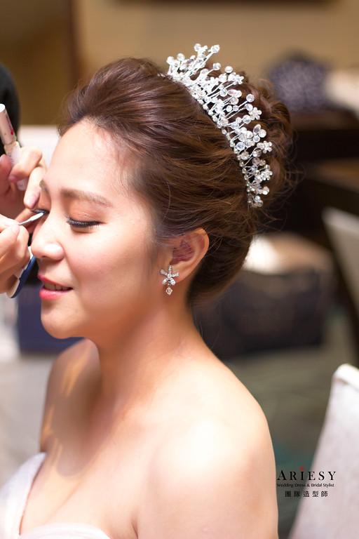 新娘秘書,新娘髮型,新秘造型,台北新秘,新娘高包頭