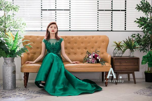 復古新娘髮型,,歐美復古髮型,新娘造型,時尚油頭造型,魚尾禮服