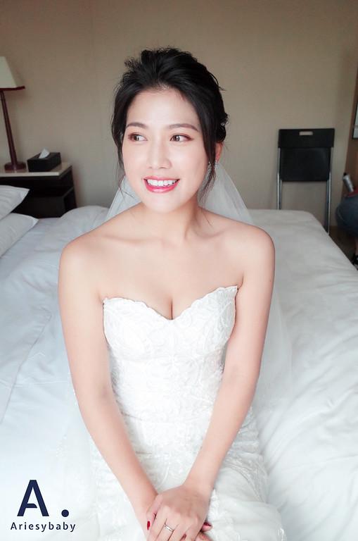 新娘秘書,新秘,歐美風新娘造型,新秘推薦,新娘妝感