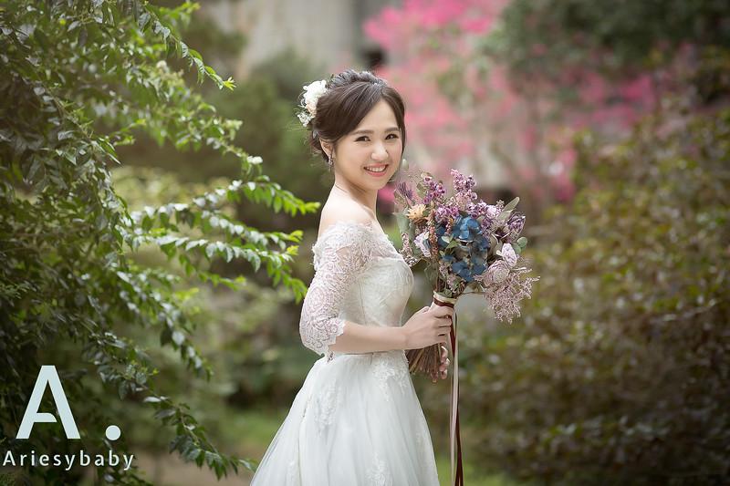 新娘秘書,新秘造型,自然清透妝感,白紗造型,黑髮造型