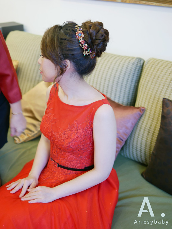 新祕,新娘祕書,文定新娘造型,編髮造型,Ariesybaby造型團隊,ARIESY愛瑞思品牌訂製手工婚紗