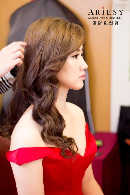 新娘秘書,新秘造型,自然清透妝感,台北新秘,白紗造型