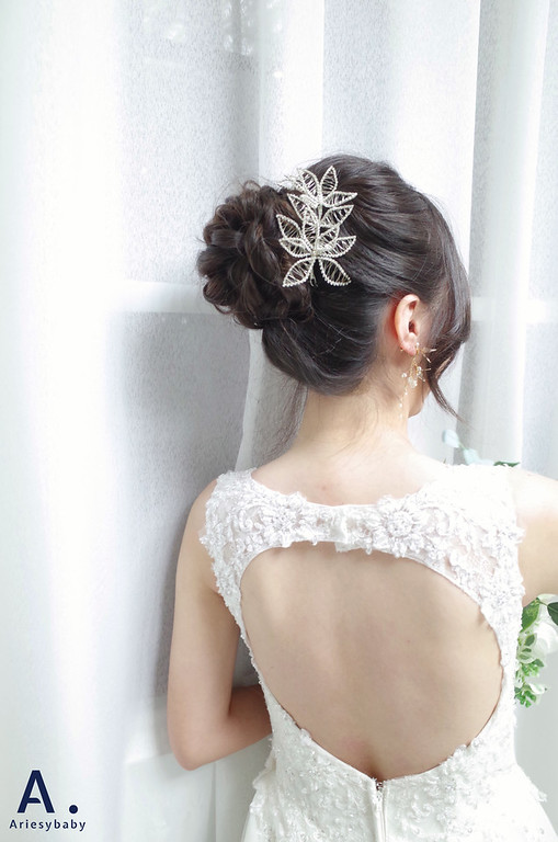 新娘秘書,新娘妝感,新秘,白紗造型,新秘推薦