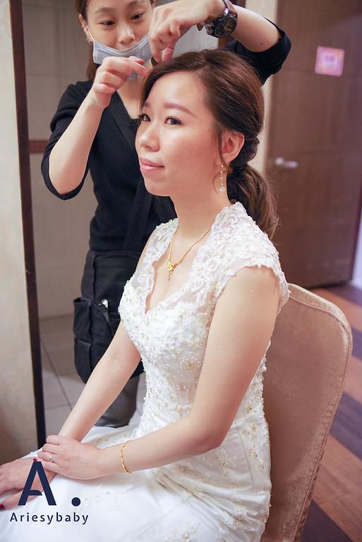 新娘秘書,新秘造型,短髮造型,低馬尾造型,韓系造型