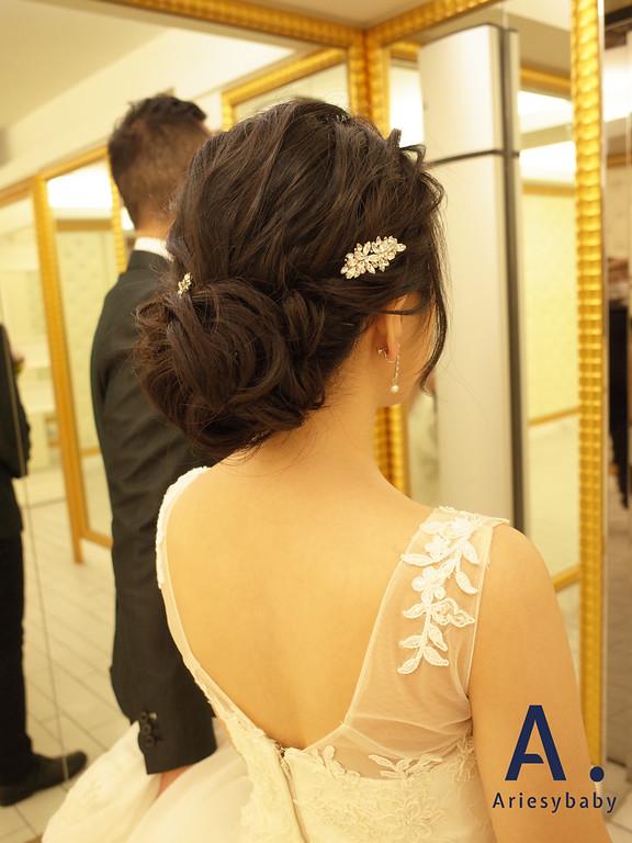 新娘髮型,新娘造型,花藝造型,編髮造型,白紗造型