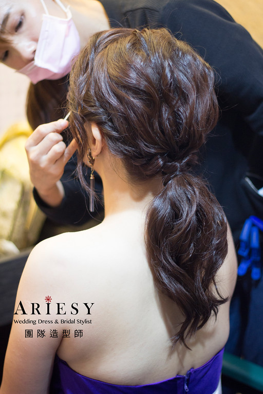 新娘秘書,新娘髮型,新秘造型,自然清透妝感,台北新秘