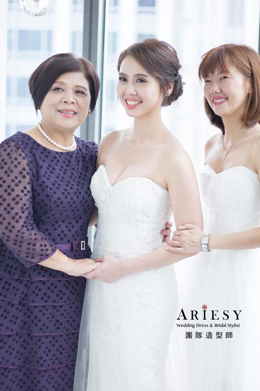 新娘秘書,乾燥花新娘髮型,新秘造型,自然清透妝感,台北新秘,