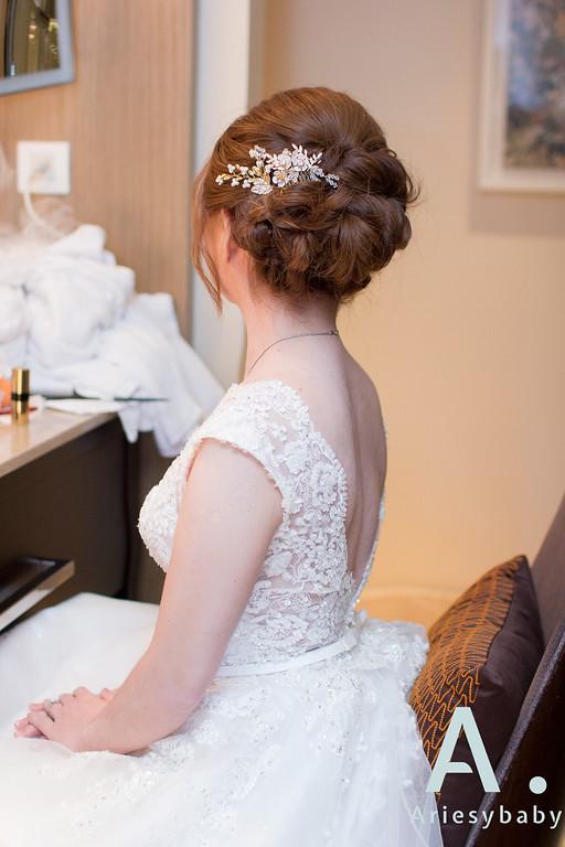 新娘秘書,新秘造型,白紗造型,自然清透妝感,迎娶造型