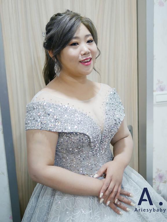 Ariesybaby造型團隊,新娘秘書,新秘,新娘造型,編髮造型
