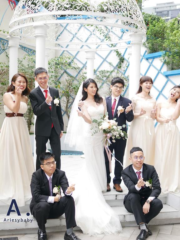 Ariesybaby造型團隊,新娘秘書,新祕,新娘造型,編髮造型
