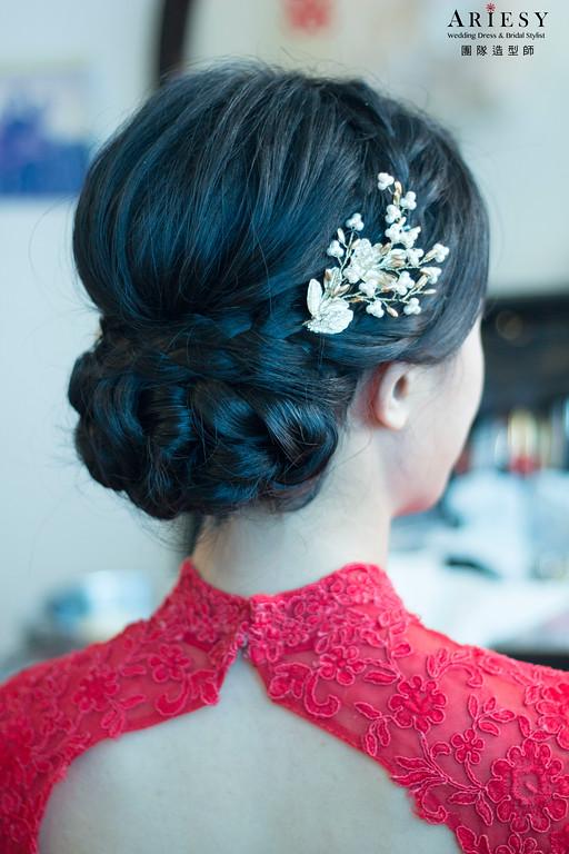 新娘秘書,新娘髮型,新秘造型,花蓮新秘,鮮花造型