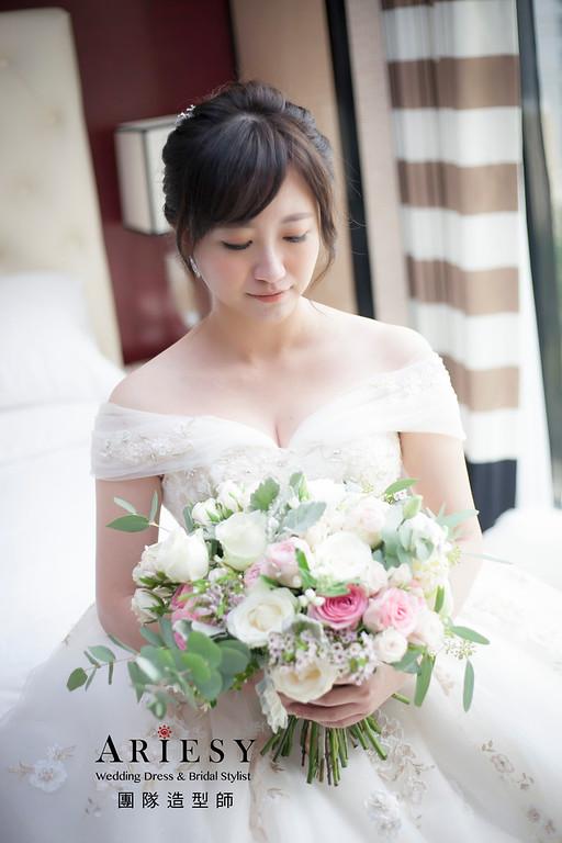 白紗造型,編髮造型,新娘祕書,新娘造型,宴客造型,新祕
