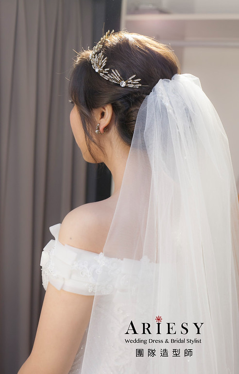 白紗造型,編髮造型,進場新娘髮型,,新娘造型,證婚造型,新祕,新娘祕書