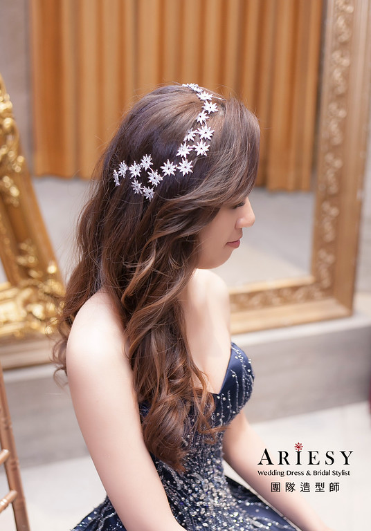 送客造型,放髮造型,新娘造型,新娘祕書,台北新祕