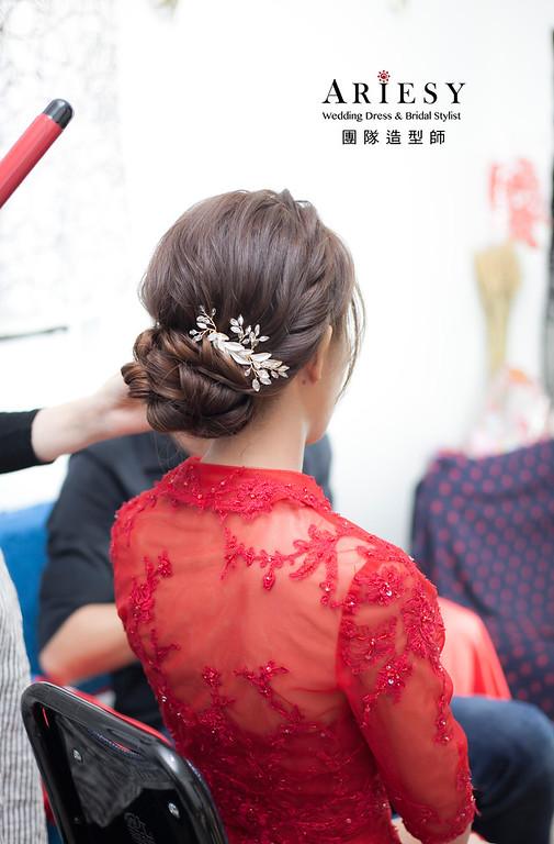 文定造型,編髮造型,新娘髮型,新娘祕書,新娘造型,新祕