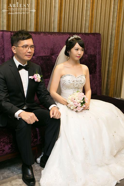 台北新秘,新娘秘書,新娘造型,黑髮新娘造型,鮮花新秘