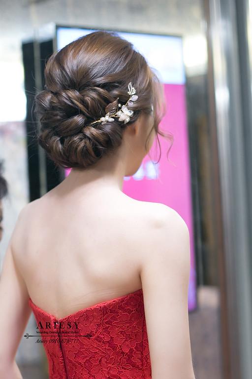 訂婚新娘秘書,文定新秘,台北新娘秘書,新秘推薦,新娘髮色,歐美新娘髮型