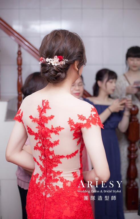 桃園新祕,新娘秘書,新娘造型,新娘編髮,文定造型,自然清透妝感,新娘髮型,花藝飾品造型,推薦新秘