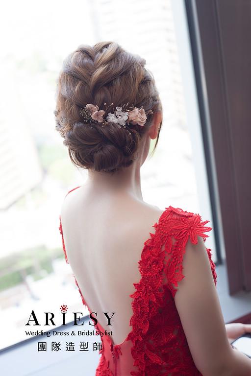 台北新祕,新娘秘書,新娘造型,編髮新祕,文定造型,自然清透妝感,新娘髮型,編髮造型,花藝新祕