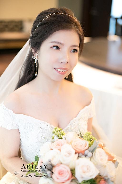 新秘,新娘秘書,愛瑞思,ARIESY,台北新秘推薦,單眼皮新娘妝