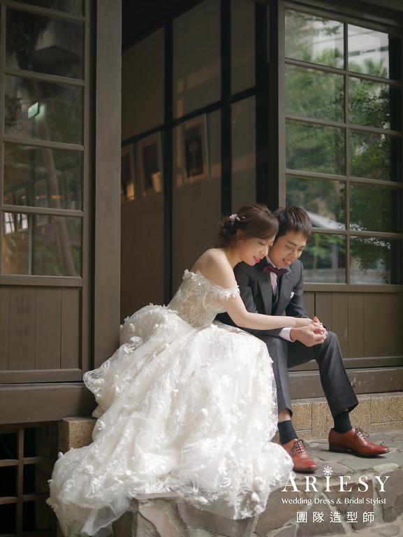 白紗進場髮型,新娘髮型,自然編髮造型,新秘花藝,新娘花藝造型