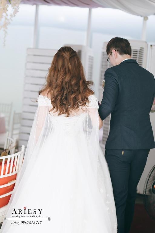 戶外婚禮,青青風車,桃園新秘,新娘秘書,鮮花新秘推薦,新娘髮色推薦