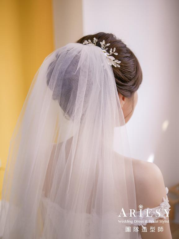 迎娶髮型,新秘推薦,編髮造型,新娘自然妝,新娘白紗造型