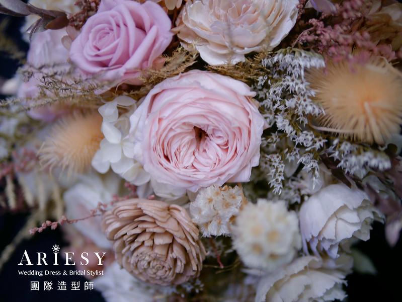 宴客捧花,不凋花捧花,客製捧花,訂製捧花,新秘推薦