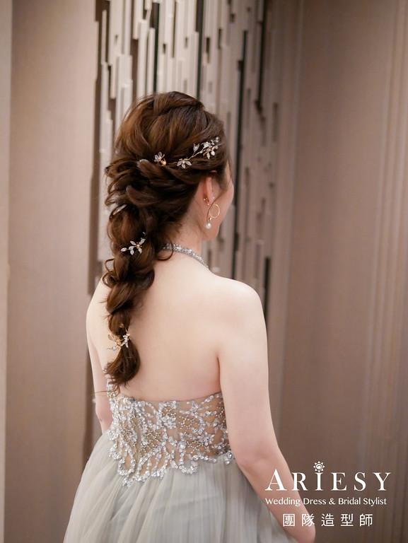 敬酒造型,新秘編髮,新秘,新娘髮型,新娘編髮造型