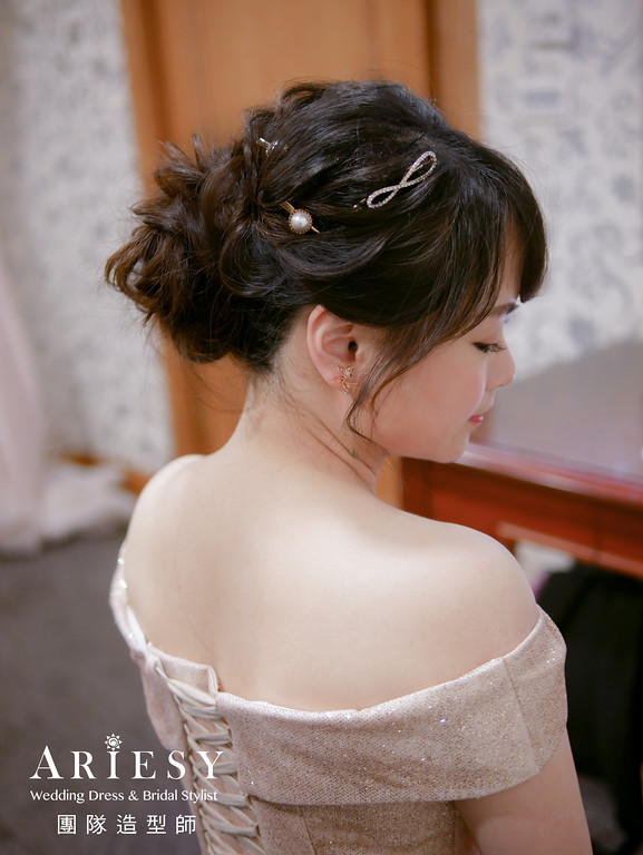 送客髮型,日系編髮造型,新娘髮型,新秘編髮,日系造型