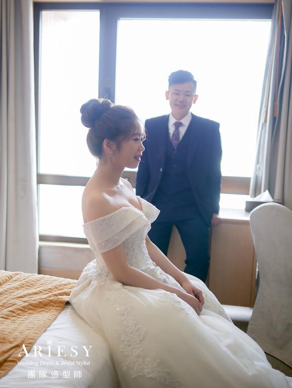 進場髮型,新娘鮮花造型,新秘花藝,新娘秘書,宴客捧花