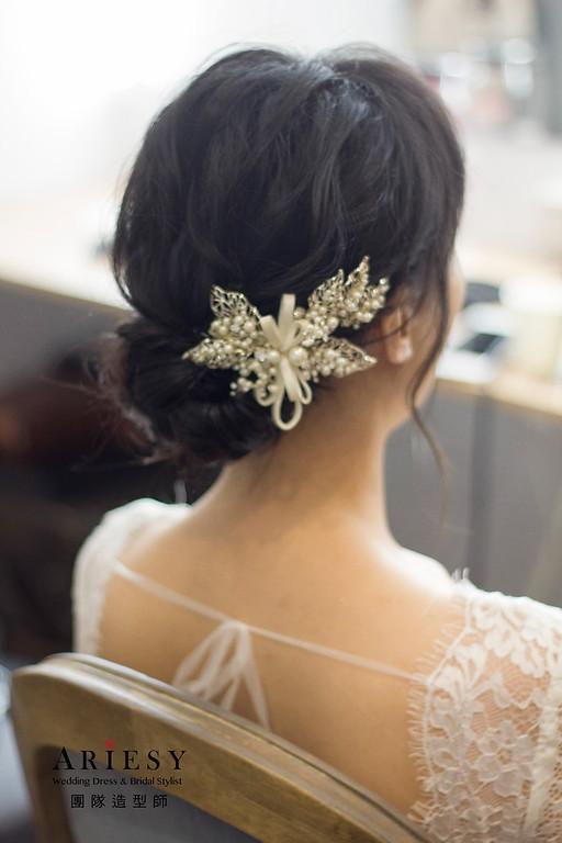 新秘,新娘秘書,黑髮新娘造型,新秘推薦,台北新秘
