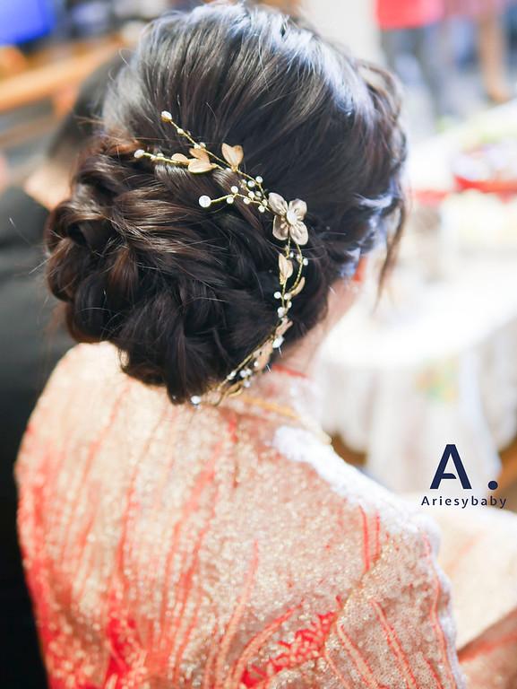 新祕,新娘祕書,秀和服造型,黑髮新娘造型,Ariesybaby造型團隊,ARIESY愛瑞思品牌訂製手工婚紗