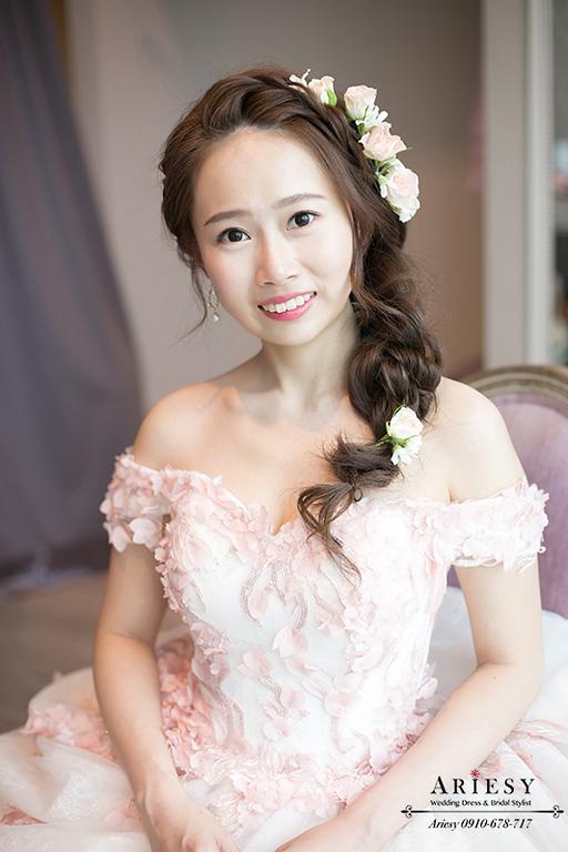鮮花新娘秘書,日系新娘造型,新娘秘書,台北新秘,ariesy,愛瑞思