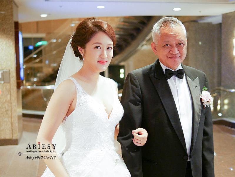 歐美風新娘秘書,新秘,愛瑞思,ARIESY,台北新秘,氣質新娘造型,遠企婚禮