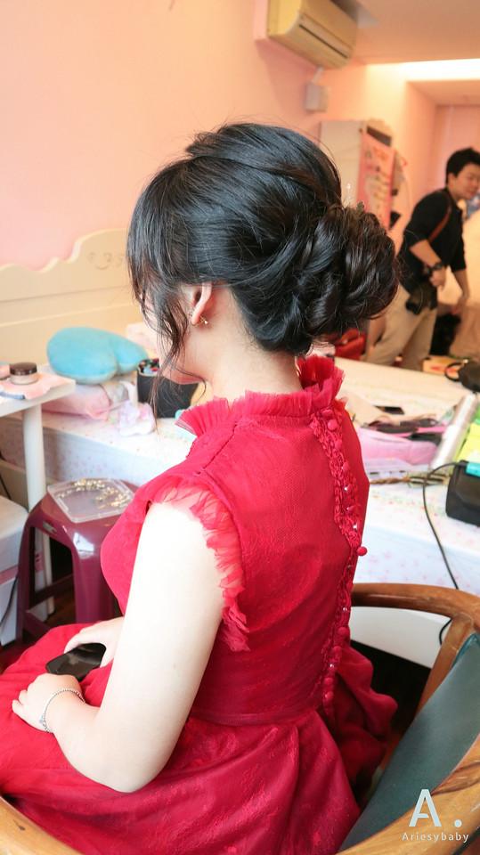 台北新祕,新祕,新娘秘書,文定造型,新娘髮型,Ariesybaby造型團隊,清透妝感,新娘造型