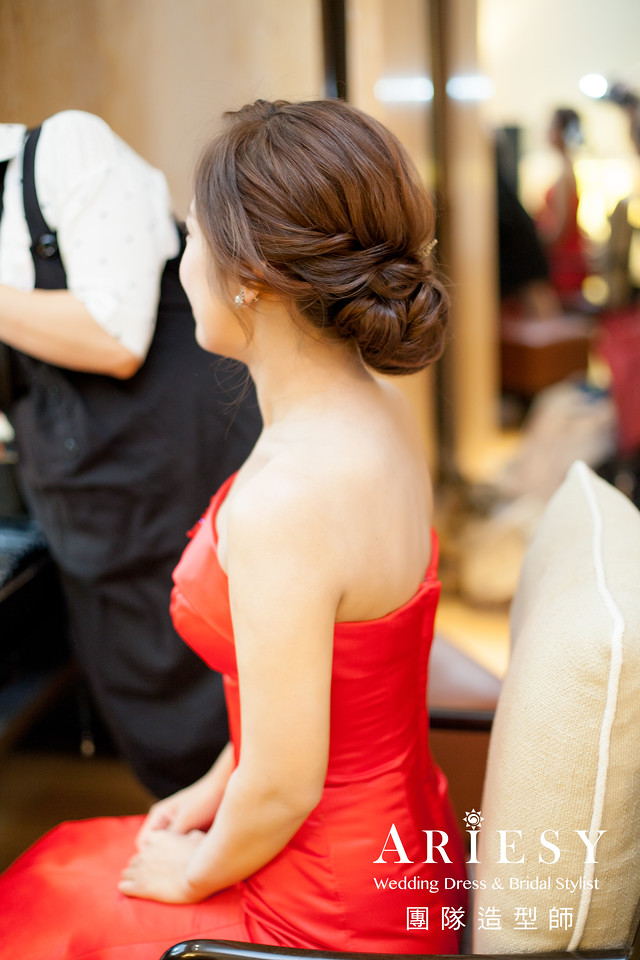 歐美新娘,台北新娘秘書,新娘造型,鮮花造型,清透妝感
