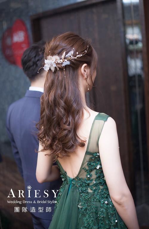 台北新祕,新娘秘書,新娘造型,編髮新祕,敬酒造型,自然清透妝感,新娘髮型,編髮造型,推薦新祕
