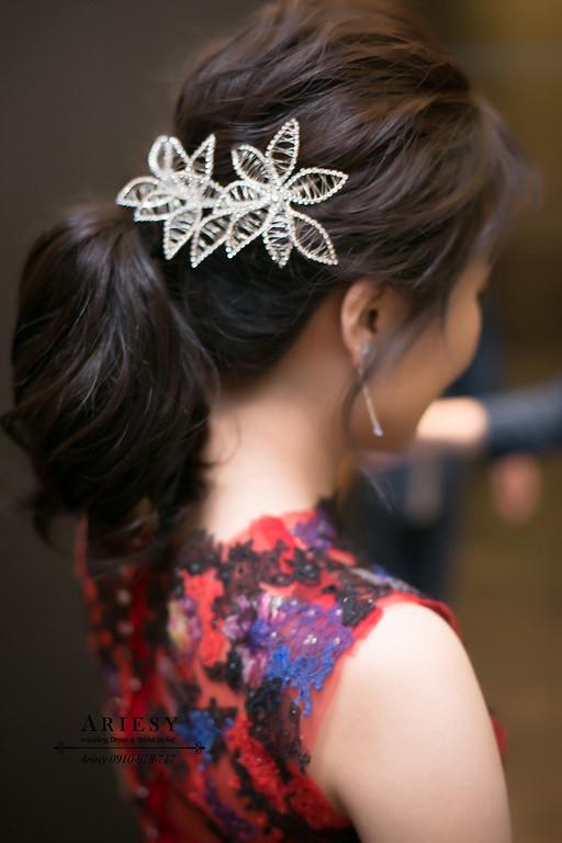 新娘秘書,新秘,台北新秘推薦,中短髮新娘造型,新秘,愛瑞思,ARIESY
