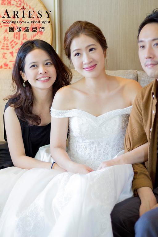 新秘,新秘造型,文定造型,白紗迎娶造型,韓系妝感造型