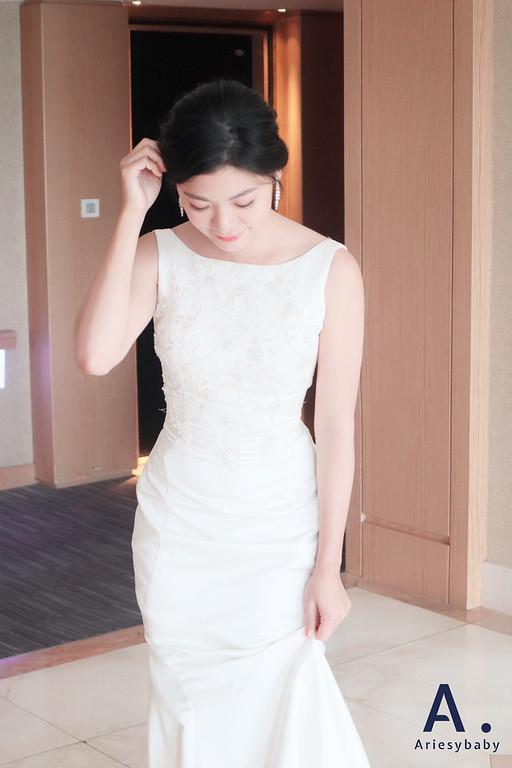 新秘,新娘編髮造型,美式白紗造型,晚禮服造型,新娘妝感