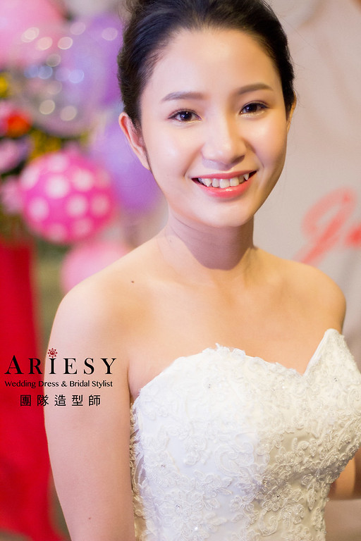 新秘,新秘造型,新娘編髮造型,新娘妝感,白紗新娘造型
