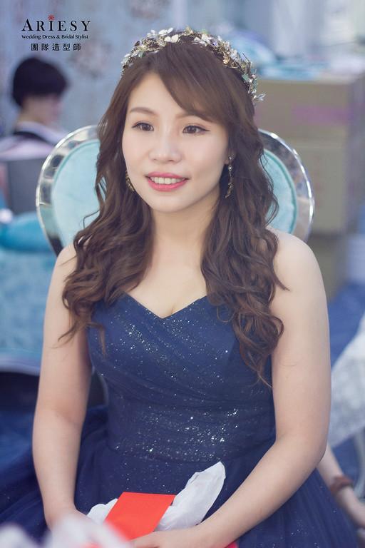 新娘秘書,新秘推薦,新秘,台北新秘,髮量少盤髮造型