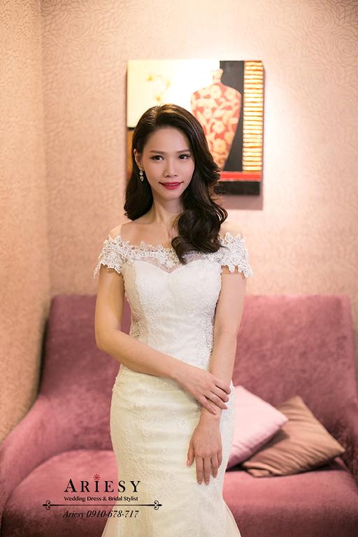 新竹新娘秘書,新秘,愛瑞思,ARIESY,名媛時尚新娘,新娘造型,莓果色紅脣