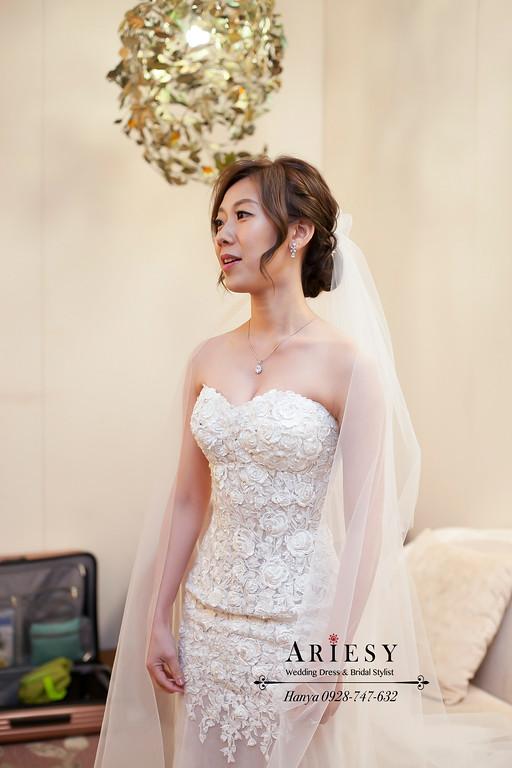 新竹新祕,簡約新娘造型,新娘秘書,新娘髮型,白紗造型