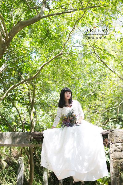 自助婚紗,新莊婚紗攝影,小清新風格婚紗,文青特色婚紗,婚紗造型
