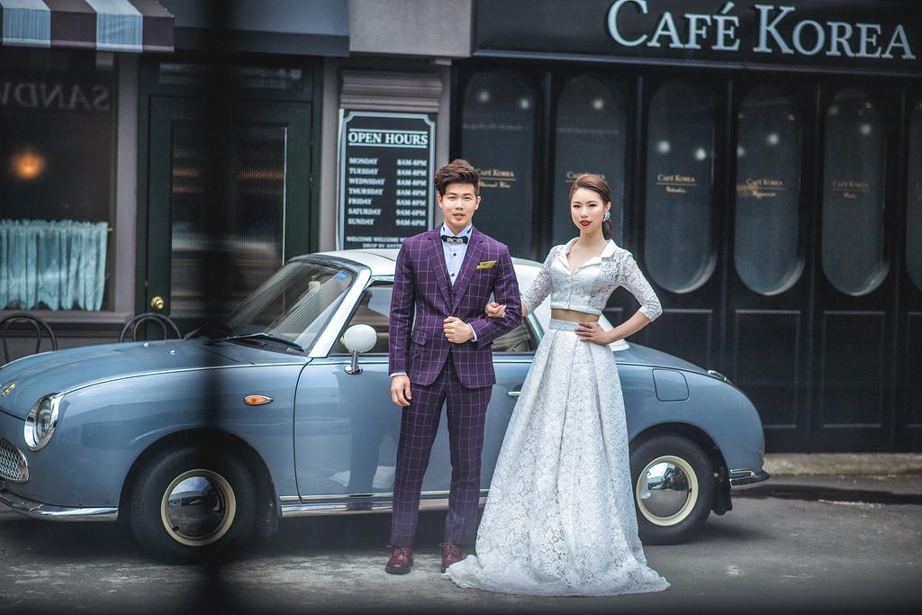 新莊婚紗攝影自助婚紗 |復古造型+歐美造型 / 小朱爸攝影 / Bride 瑀